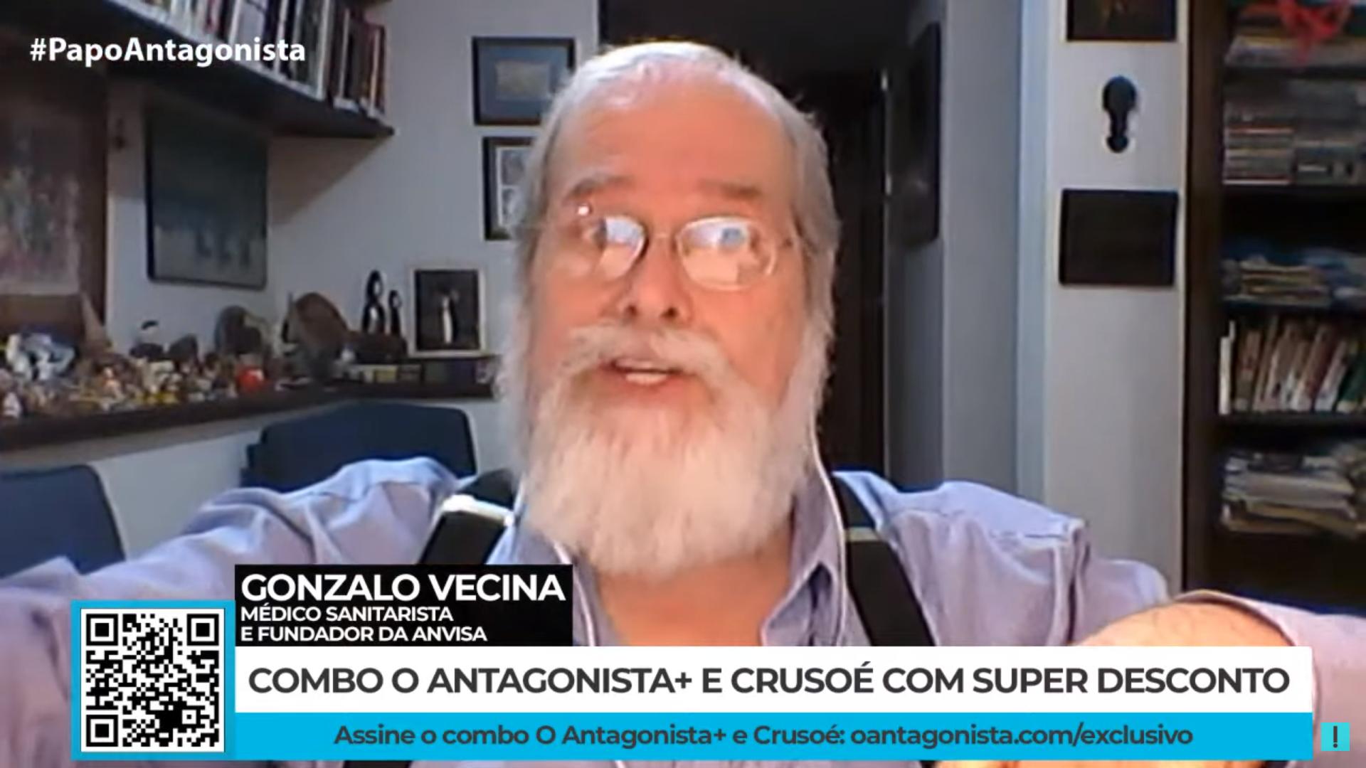 IMAGEM: Gonzalo Vecina: projeto do governo Bolsonaro é chegar a 1 milhão de mortes por Covid
