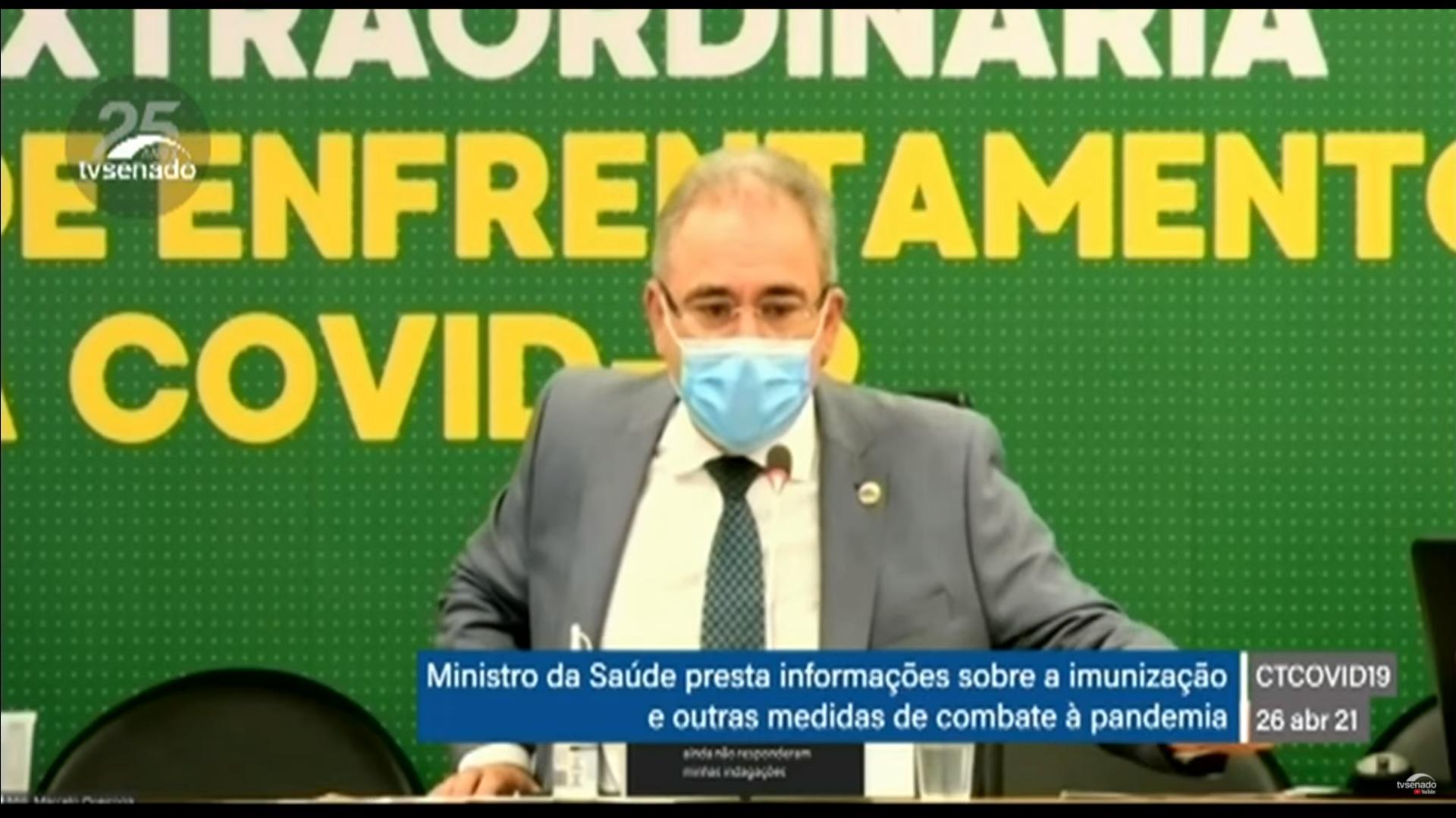 IMAGEM: Queiroga deixa audiência para ir ao Planalto e não responde a 2ª rodada de perguntas