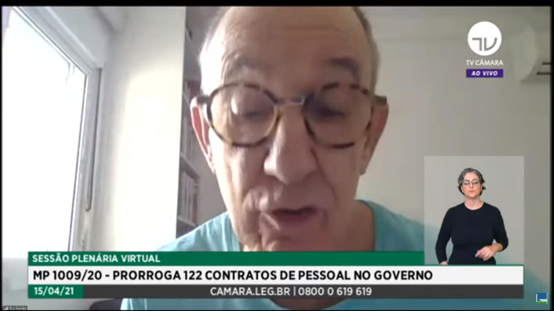 IMAGEM: Rui Falcão questiona análise de medida cautelar contra Daniel Silveira pela CCJ