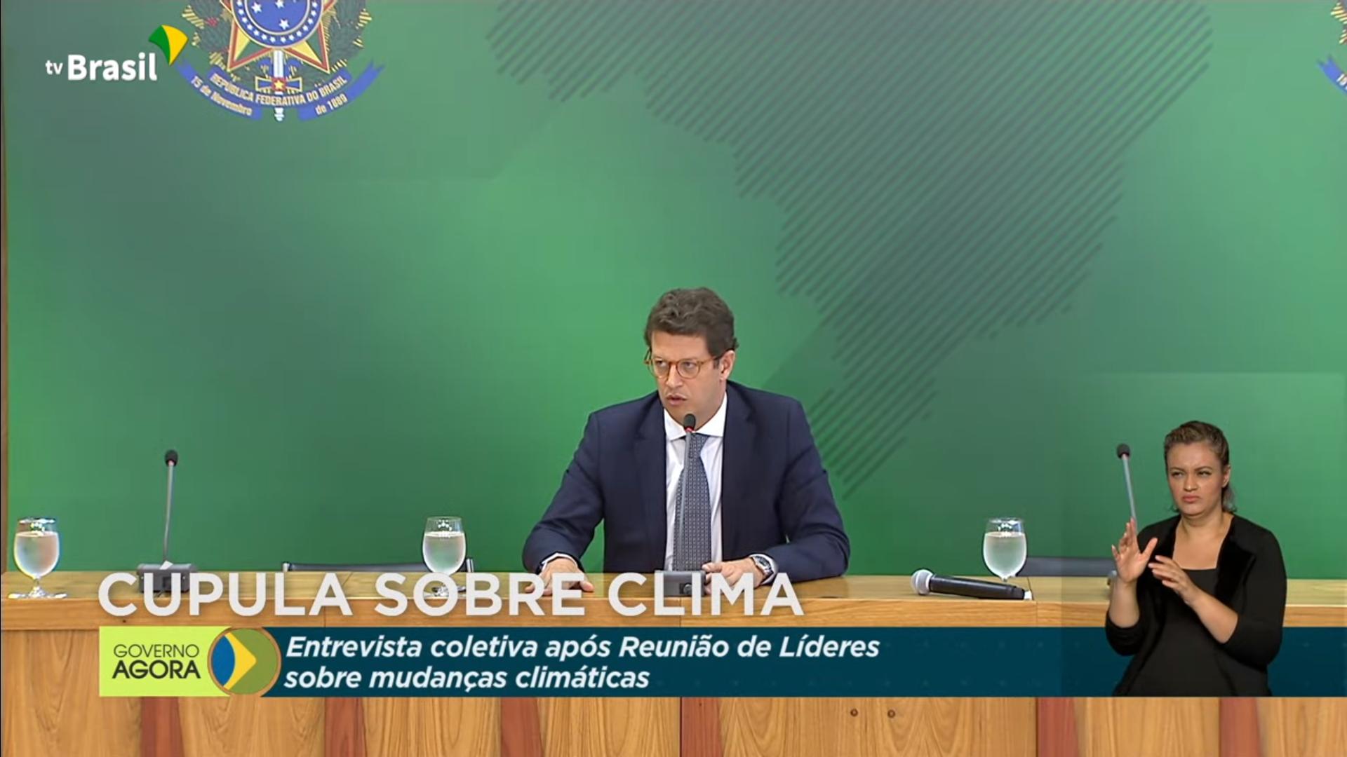 IMAGEM: Salles diz que retorno do Fundo Amazônia depende da Noruega