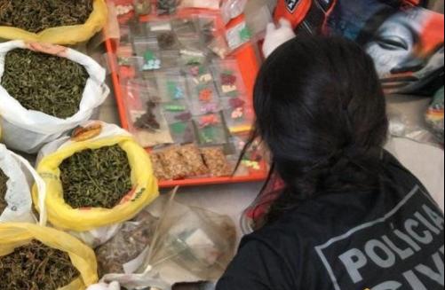 IMAGEM: Polícia do DF monitora droga que faz pessoas 'agirem como macaco'