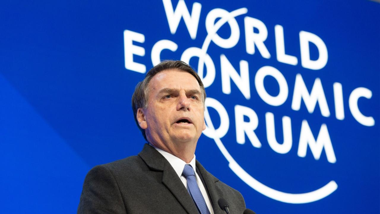 IMAGEM: Fórum Econômico Mundial cancela reunião anual de 2021