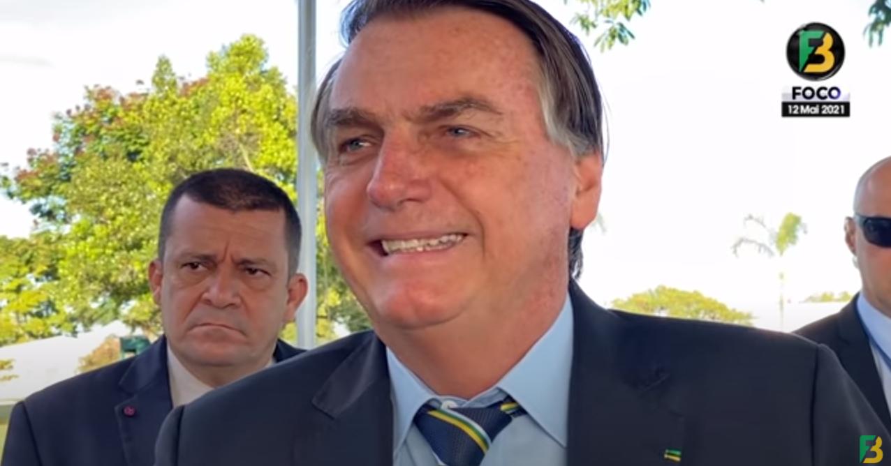 IMAGEM: 'Eu não tirei emprego de uma pessoa no Brasil', diz Bolsonaro