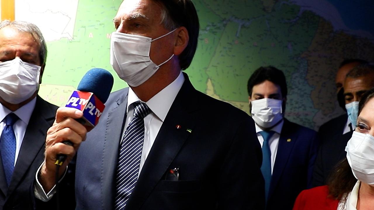 IMAGEM: Bolsonaro e Lira participam de filiação de Cláudio Castro ao PL