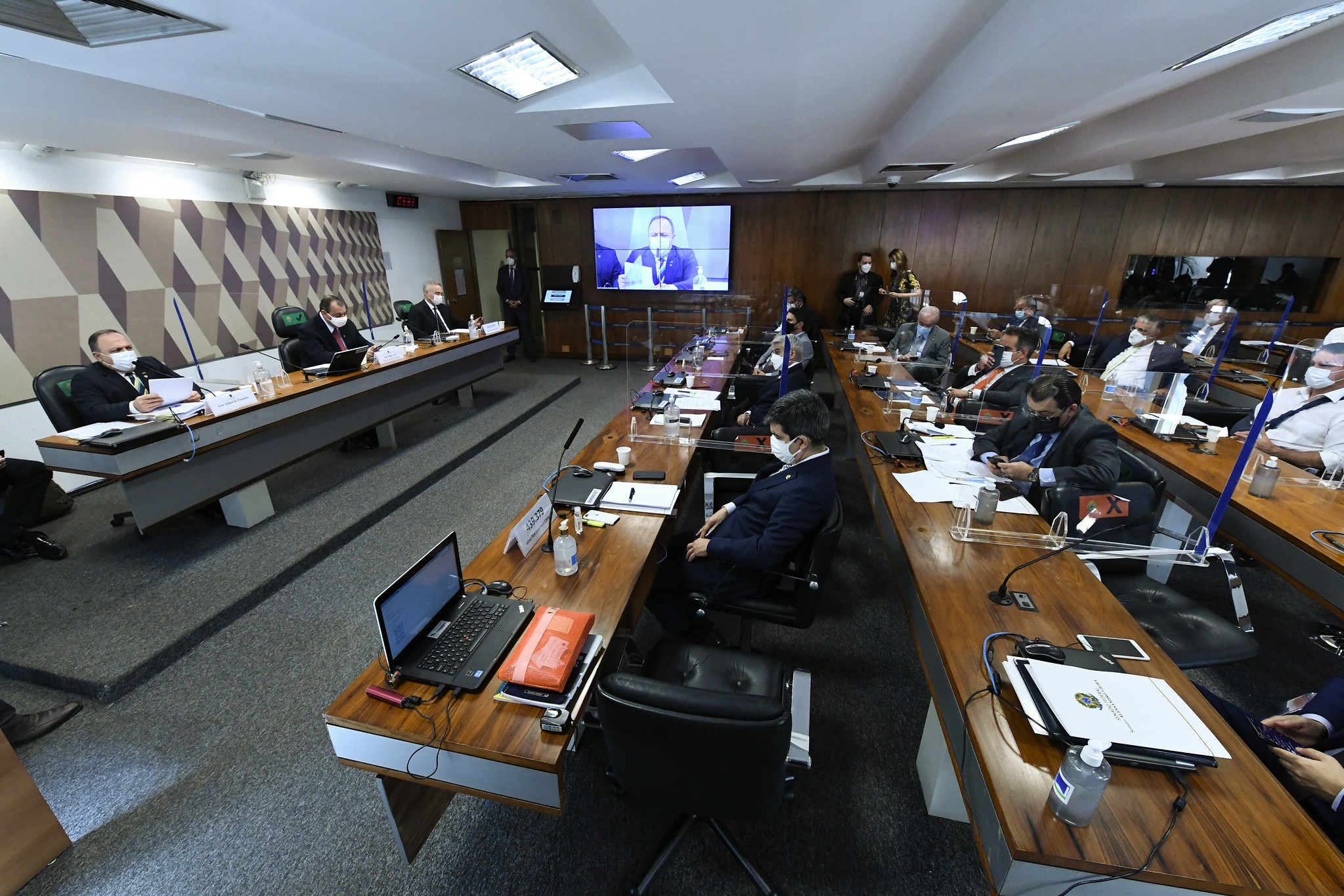 IMAGEM: AO VIVO: CPI da Covid vota requerimentos