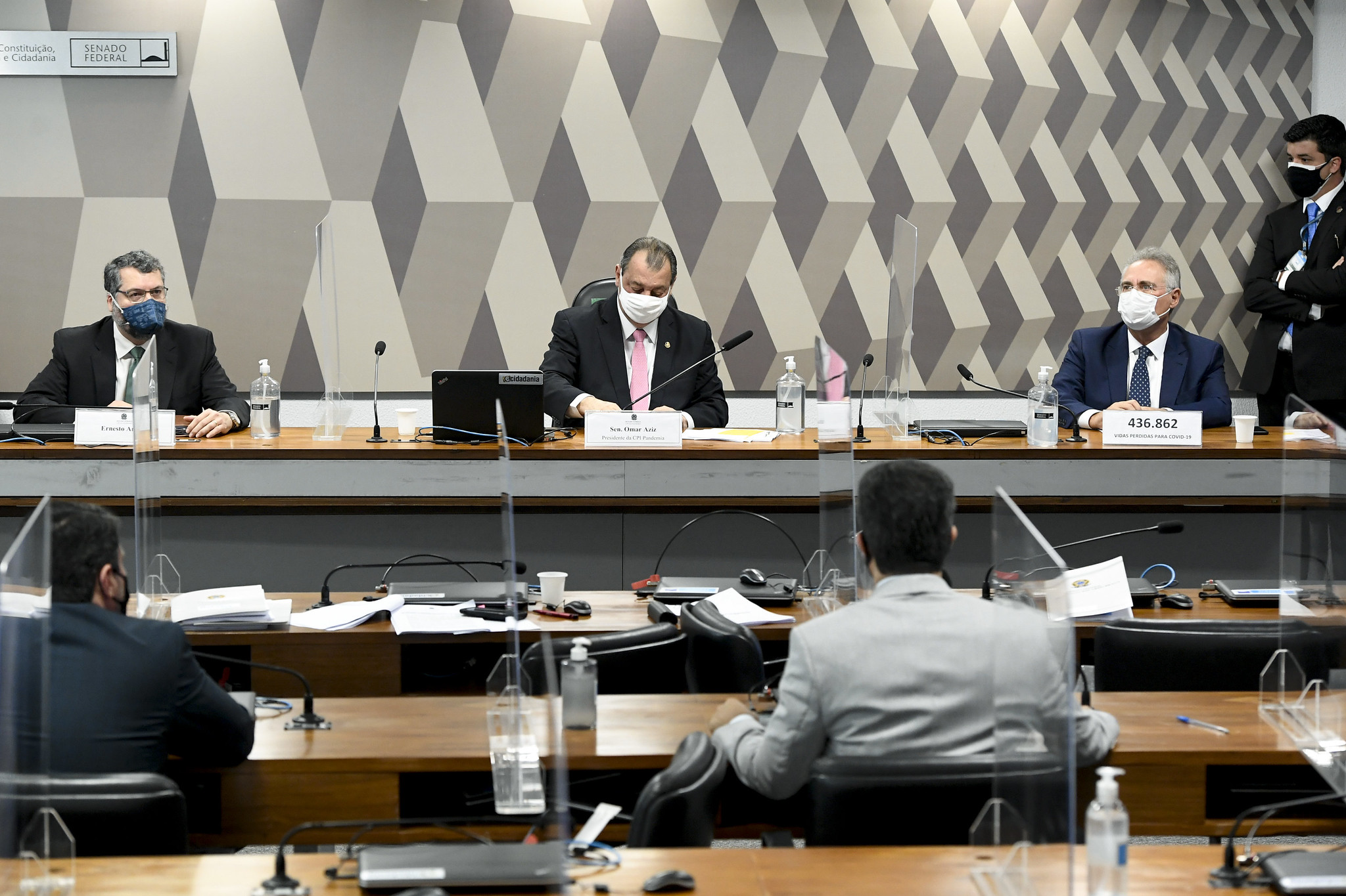 IMAGEM: CPI da Covid tem atraso mais longo desde seu início