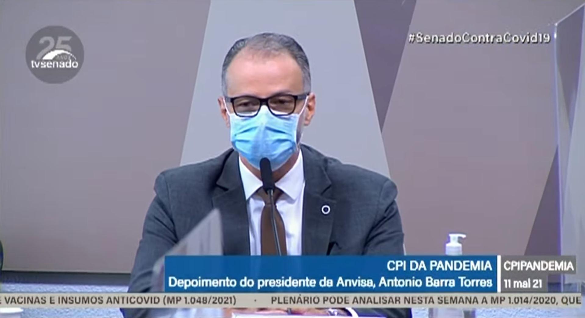IMAGEM: Presidente da Anvisa diz que médica pró-cloroquina sugeriu mudar bula do remédio e confirma reunião no Planalto