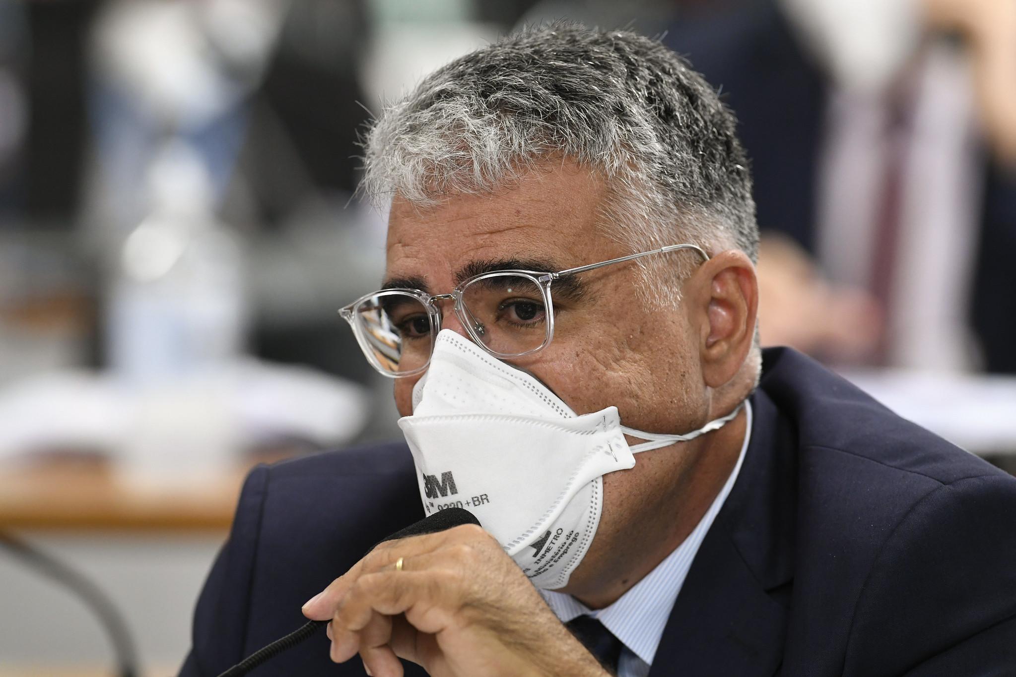 IMAGEM: Girão diz que protocolou requerimento para acareação entre Dias e Dominguetti
