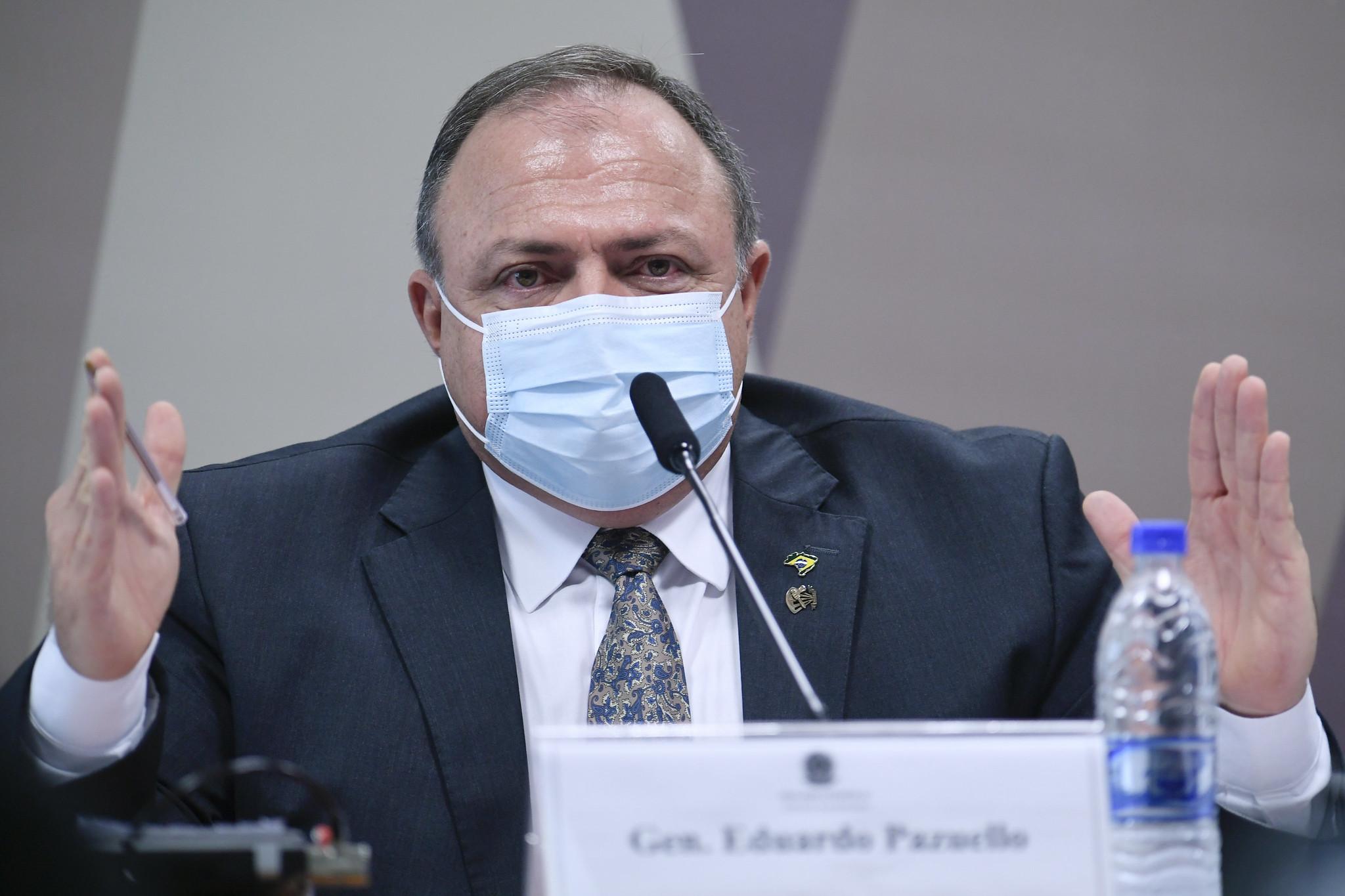 IMAGEM: Saiba tudo o que disse Pazuello no segundo dia de depoimento na CPI