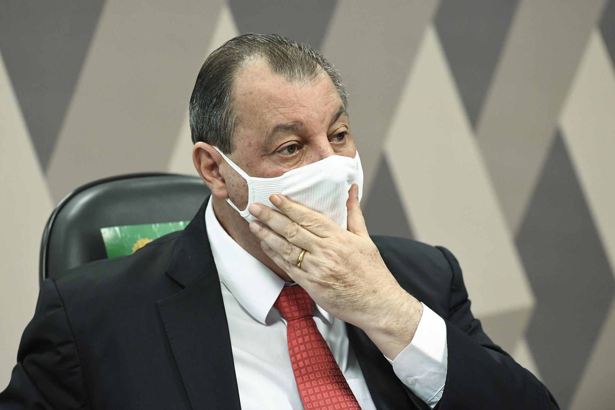 IMAGEM: CPI da Covid: governadores pedem que Aziz reconsidere convocações
