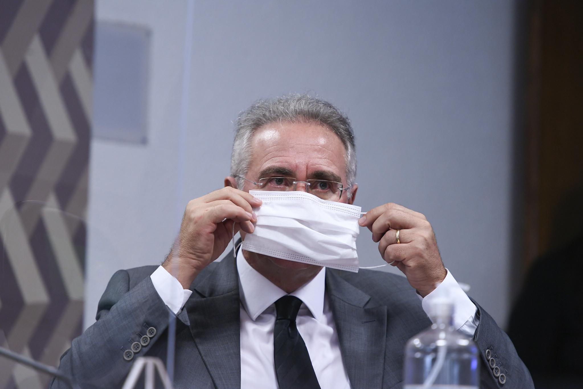 IMAGEM: Renan diz que Pazuello, Ernesto e Wajngarten podem passar à condição de investigados