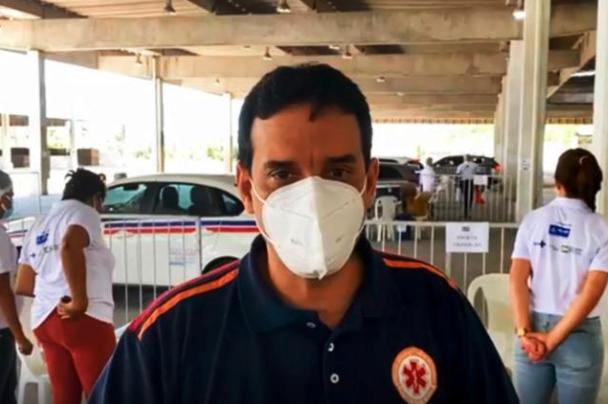 """IMAGEM: """"Sou oposição a Bolsonaro, mas não posso concordar"""", diz secretário de Saúde sobre atos"""