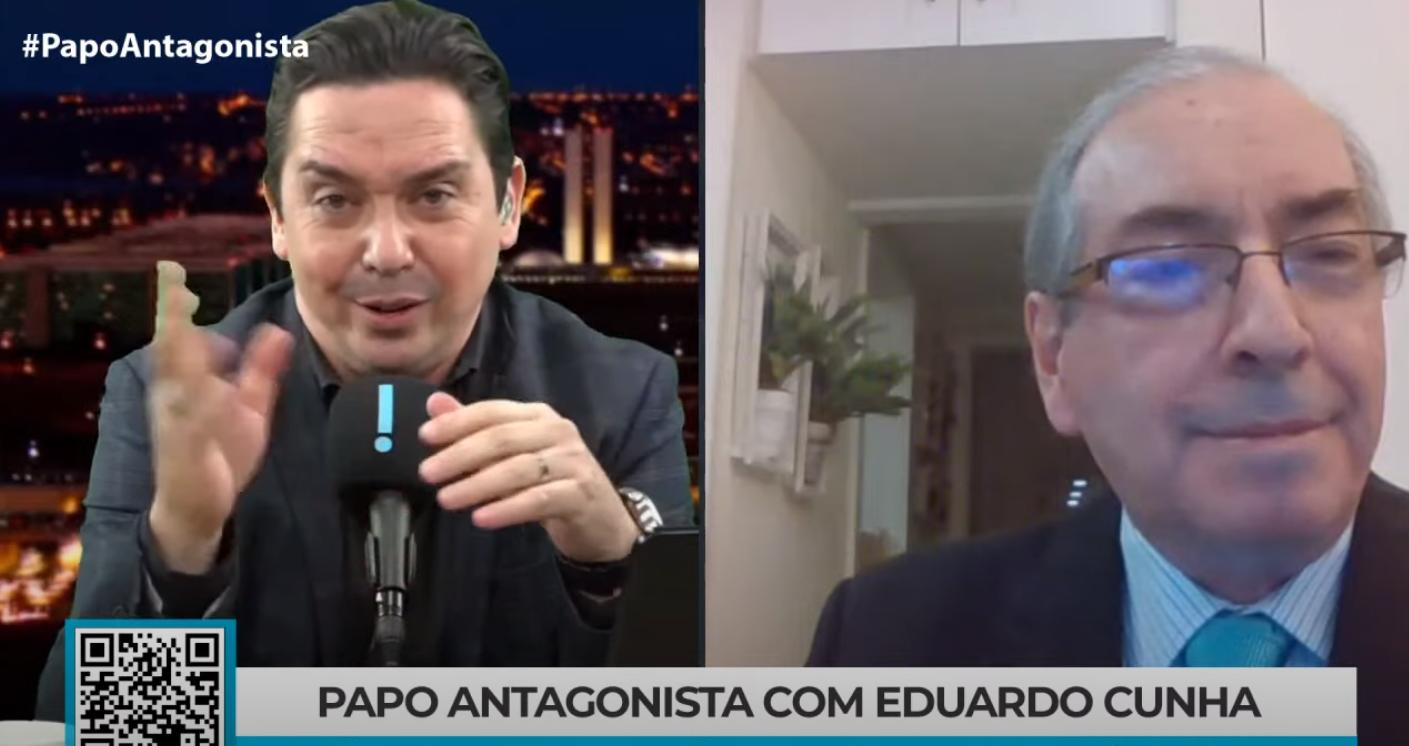 """IMAGEM: Cunha diz que """"emenda extra sempre existiu"""" e confirma """"distribuição para quem vota com o governo"""""""