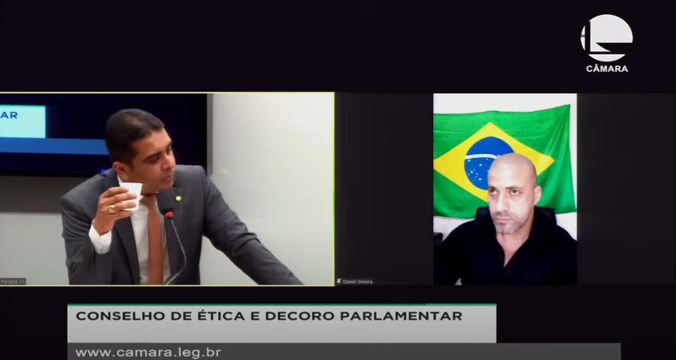 IMAGEM: Relator do caso Daniel Silveira diz que argumento da defesa é 'babaquice'