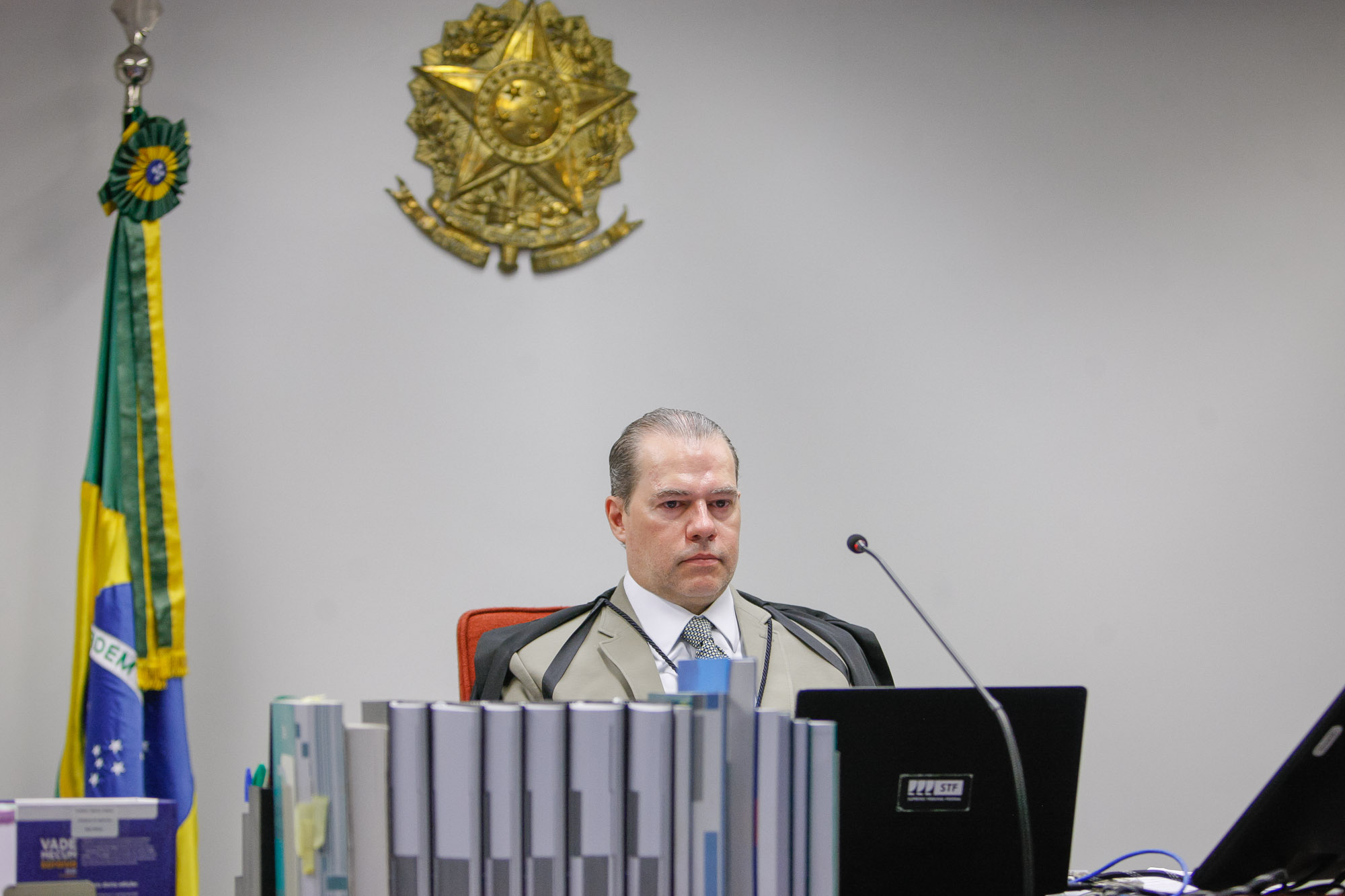 IMAGEM: Toffoli pede vista e julgamento sobre participação sindical em demissão em massa é suspenso