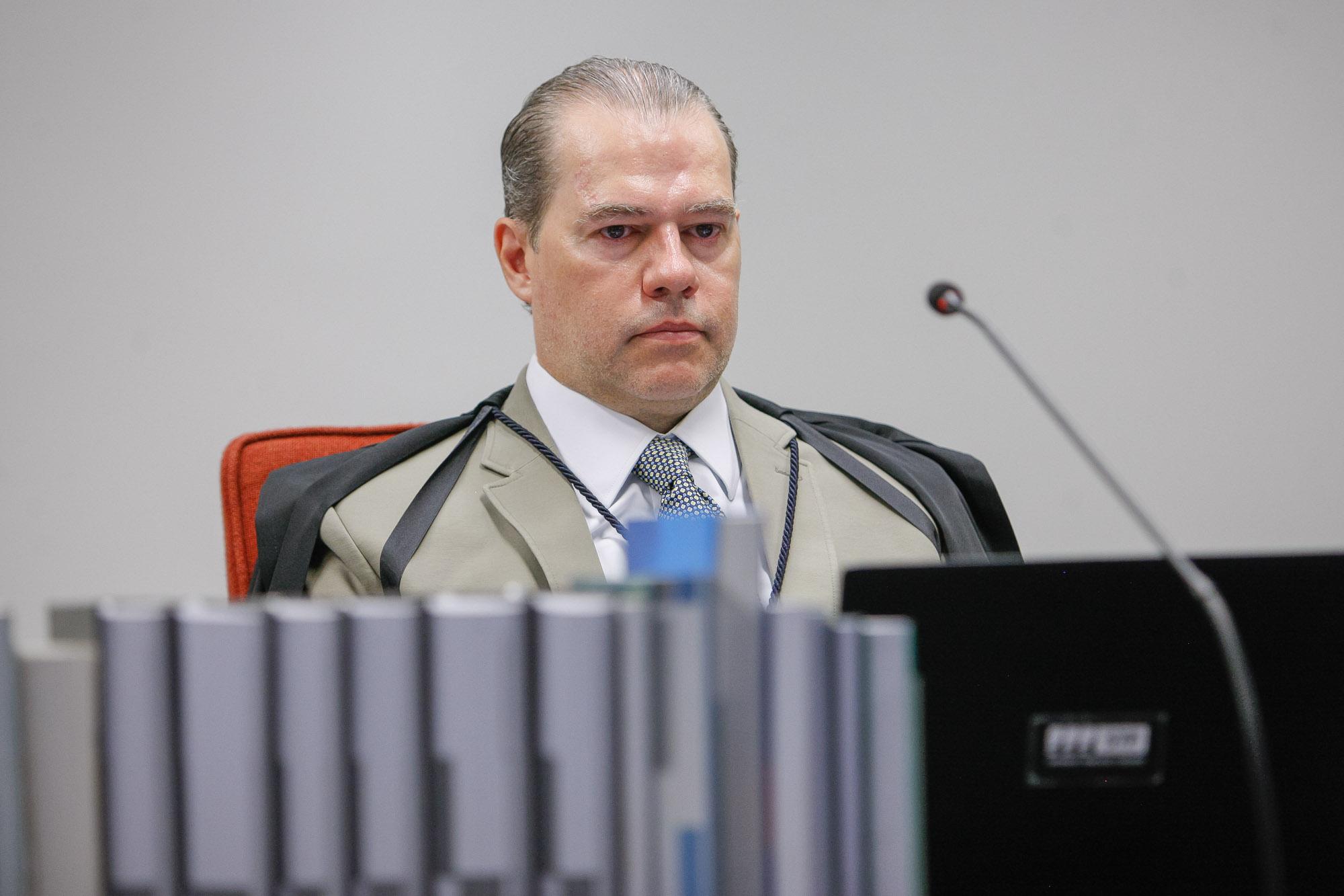 IMAGEM: Toffoli relatará ação contra bloqueio de seguidores por Bolsonaro