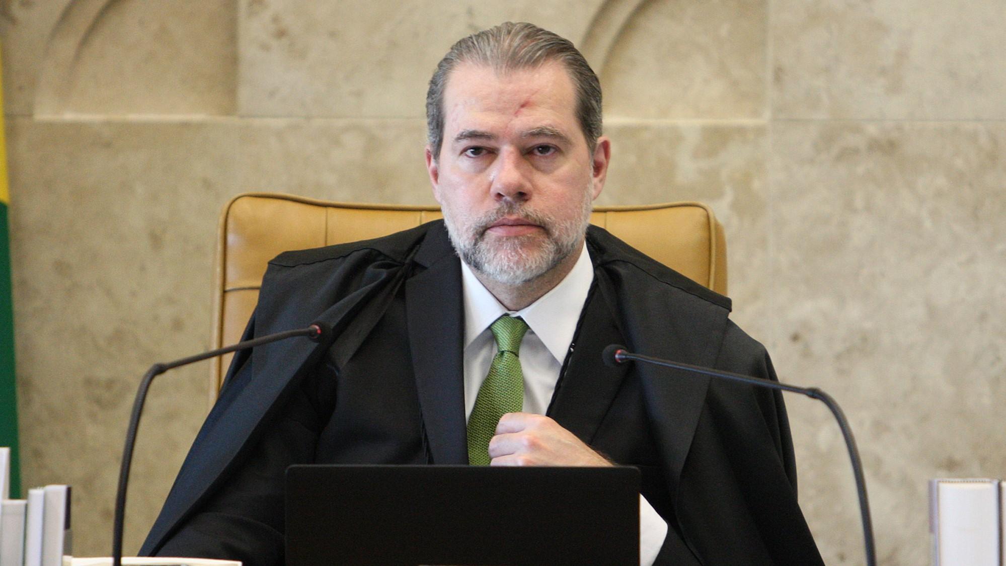 IMAGEM: Toffoli nega pedido para obrigar Bolsonaro a desbloquear site no Twitter