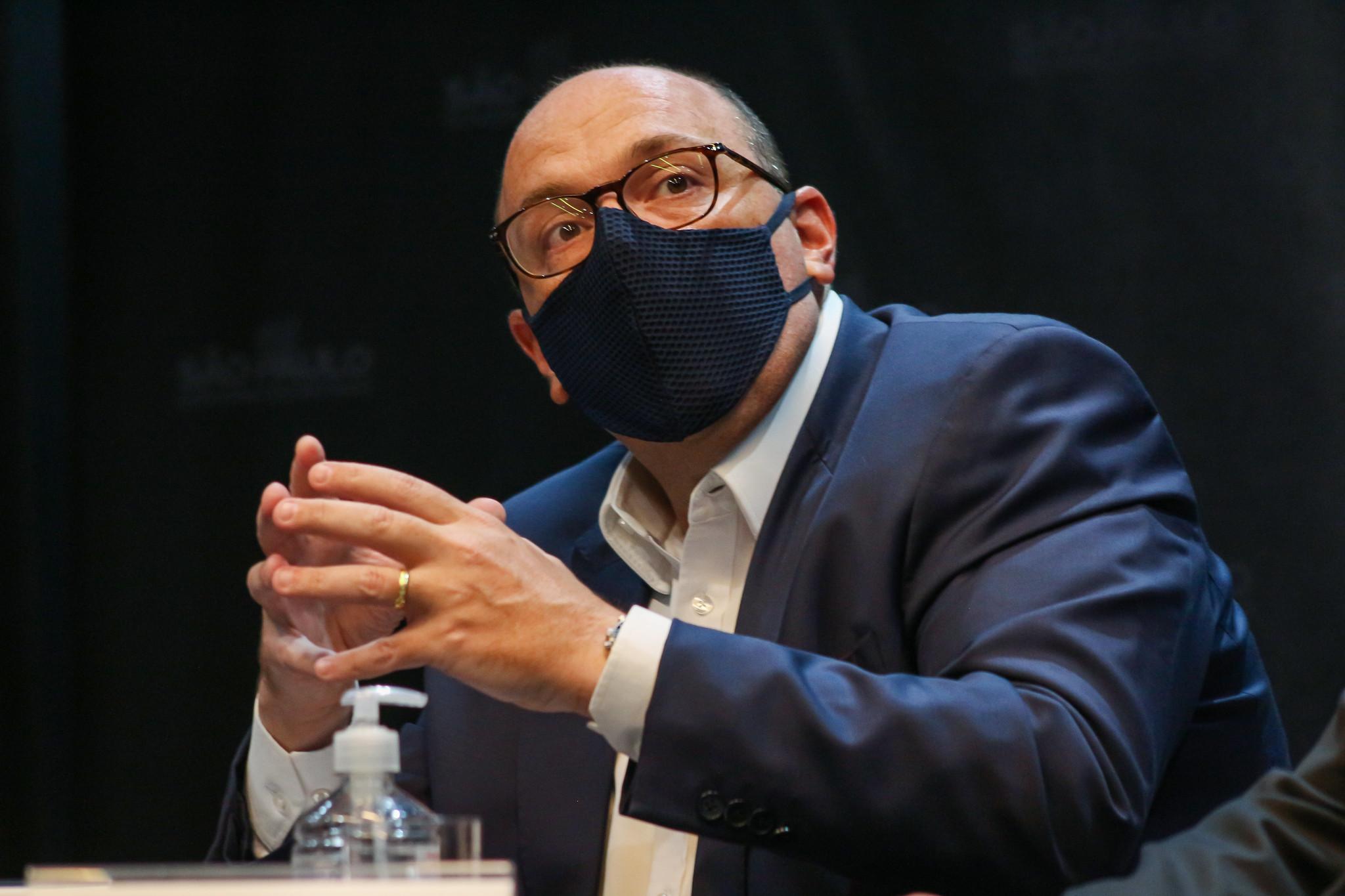 IMAGEM: Dimas Covas: estrangeiros podem receber primeiro a ButanVac