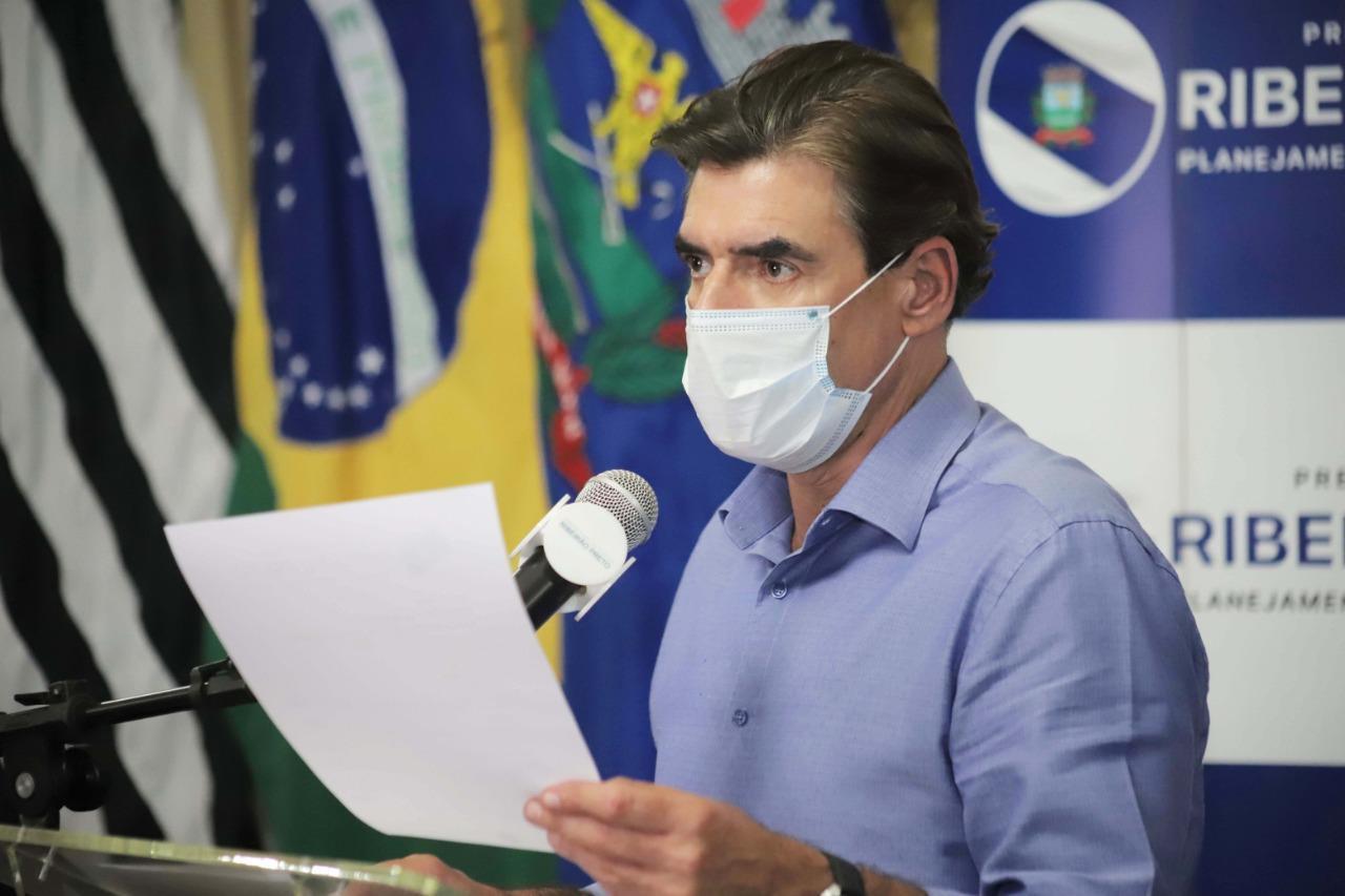 IMAGEM: Covid: prefeito de Ribeirão Preto é flagrado em resort após fechar cidade