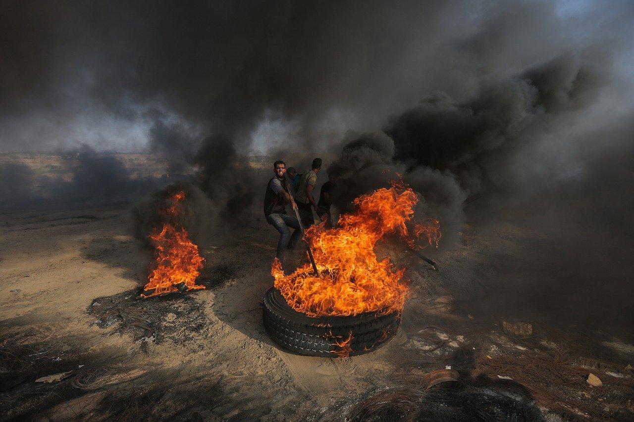 IMAGEM: Catar anuncia ajuda de US$ 500 milhões para reconstrução de Gaza