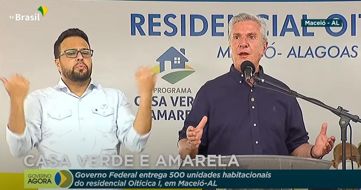 IMAGEM: O discurso lulista de Collor durante o evento de Bolsonaro