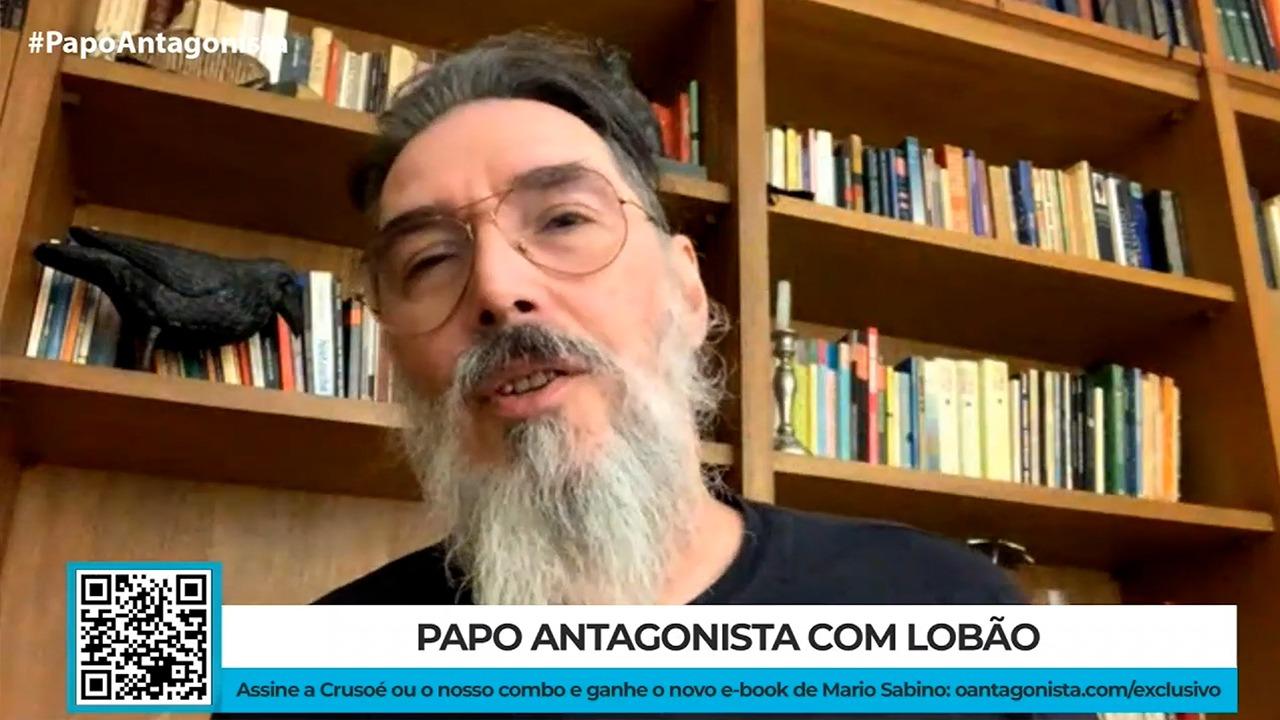 """IMAGEM: Lobão diz que Olavo está por trás do 'Ministério da Saúde paralelo': """"Deveria ser preso em corte internacional"""""""