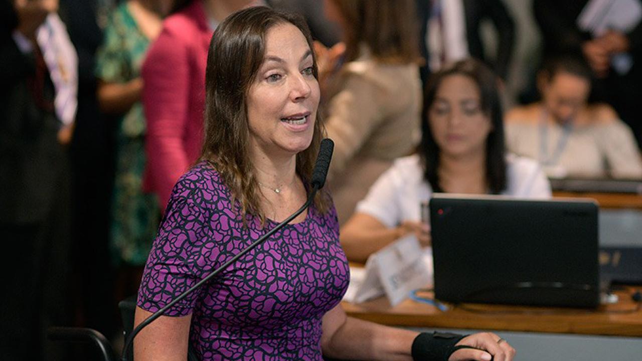 IMAGEM: Mara Gabrilli sugere que toparia ser vice de Mandetta