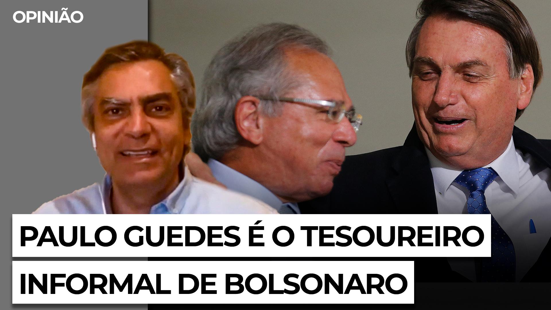 IMAGEM: Guedes quer aplausos para o Centrão