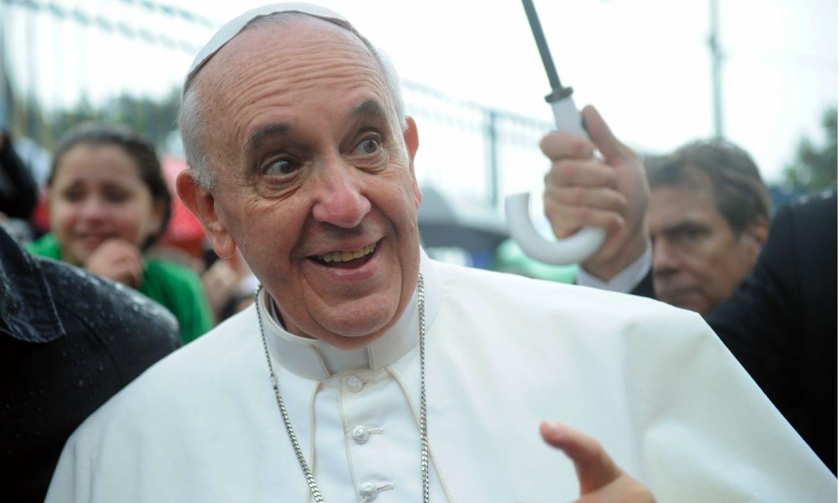 IMAGEM: Papa diz que Brasil não tem salvação: 'muita cachaça e pouca oração'