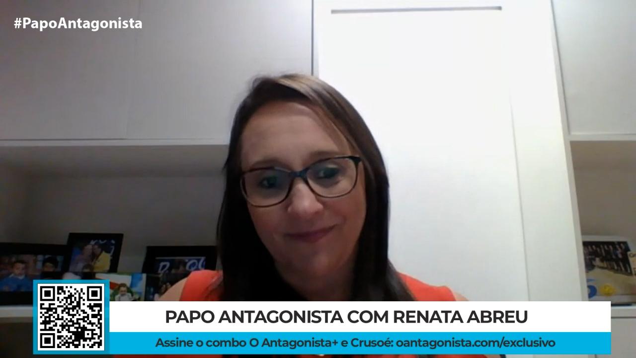 """IMAGEM: Renata Abreu: """"Excesso de partidos atrapalha a gestão da Câmara"""""""