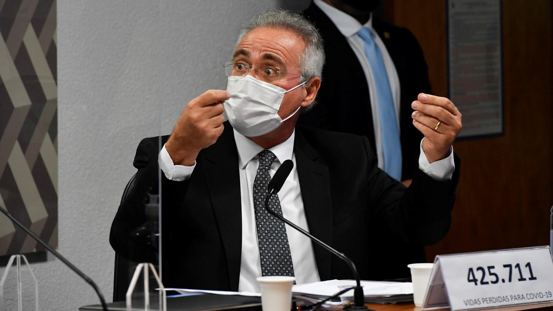 """""""Renan Calheiros vende a luta"""""""