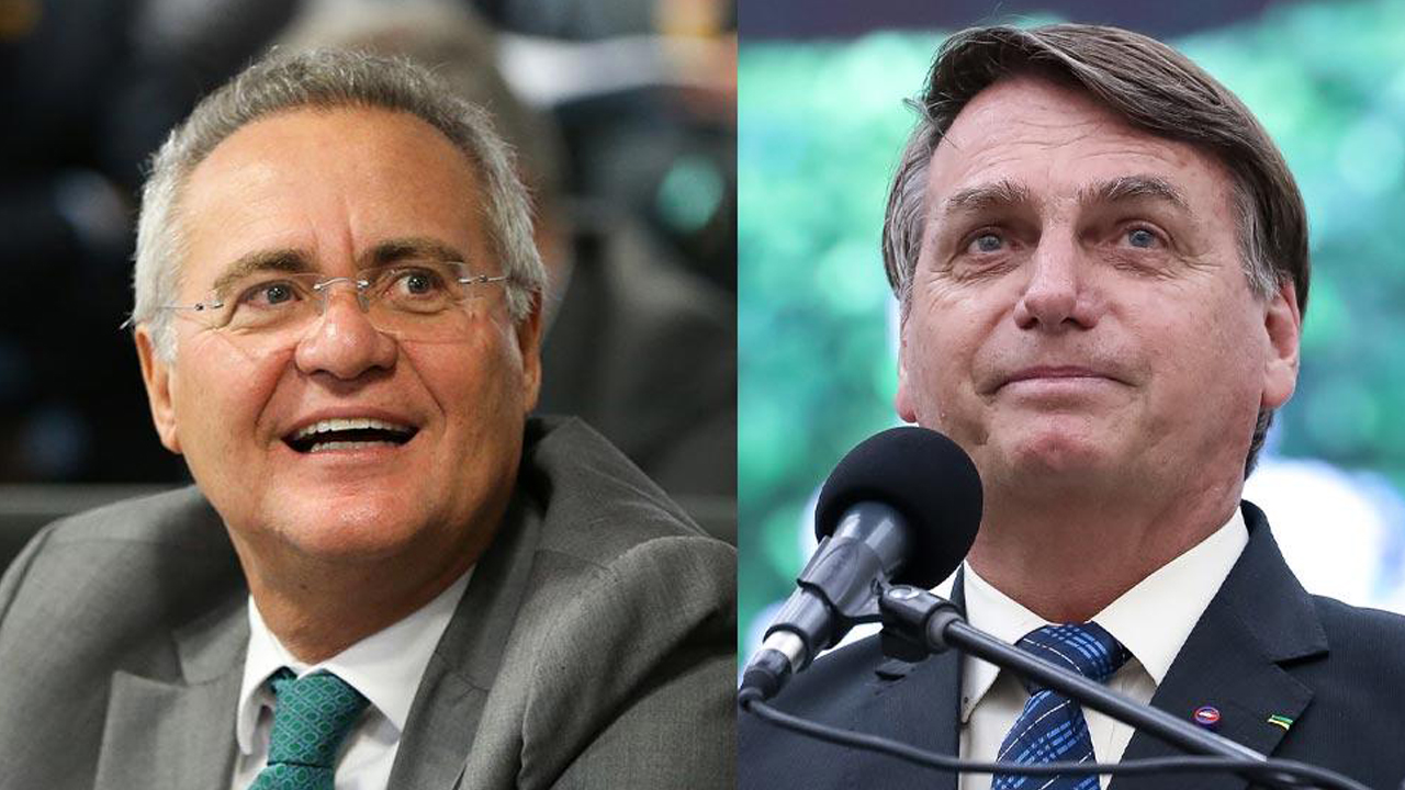 IMAGEM: Bolsonaro vai à terra dos Calheiros