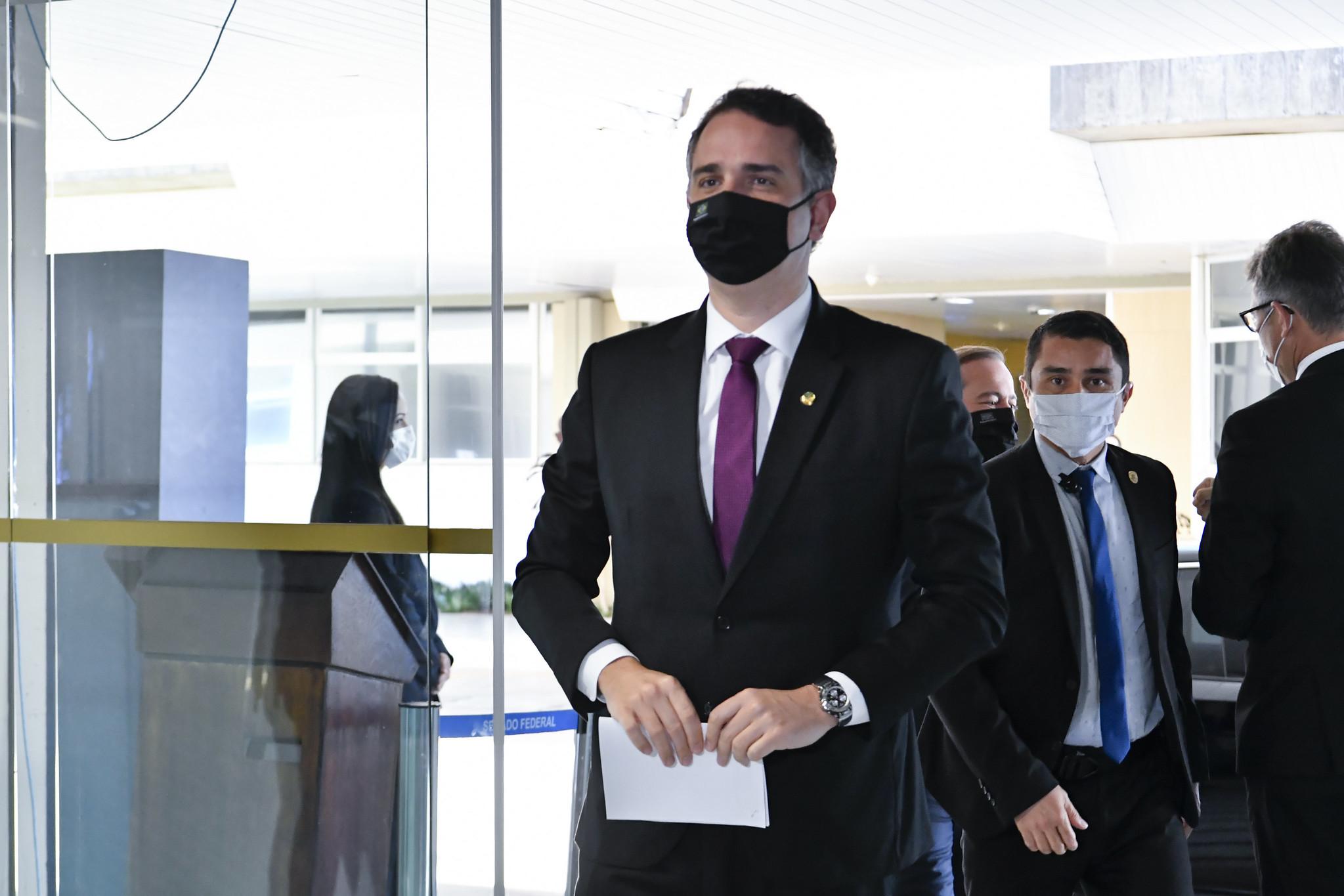 IMAGEM: Pacheco cancela sessões remotas e comissões do Senado nesta semana