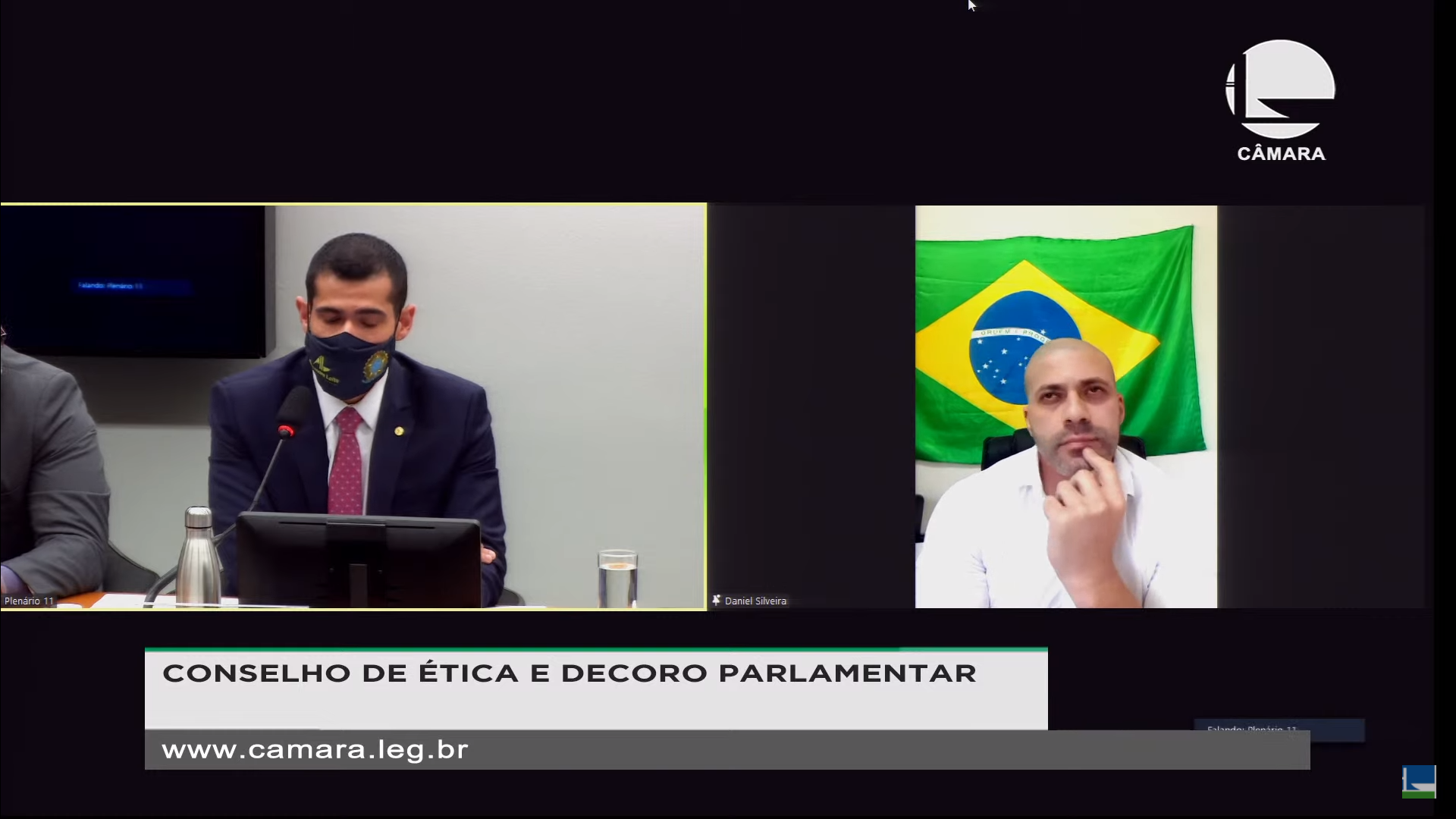 IMAGEM: Daniel Silveira agora diz que assessora gravou reunião do PSL