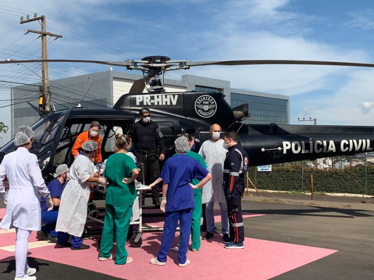 IMAGEM: Autor de chacina em creche de SC deve ter alta da UTI nos próximos dias, diz hospital