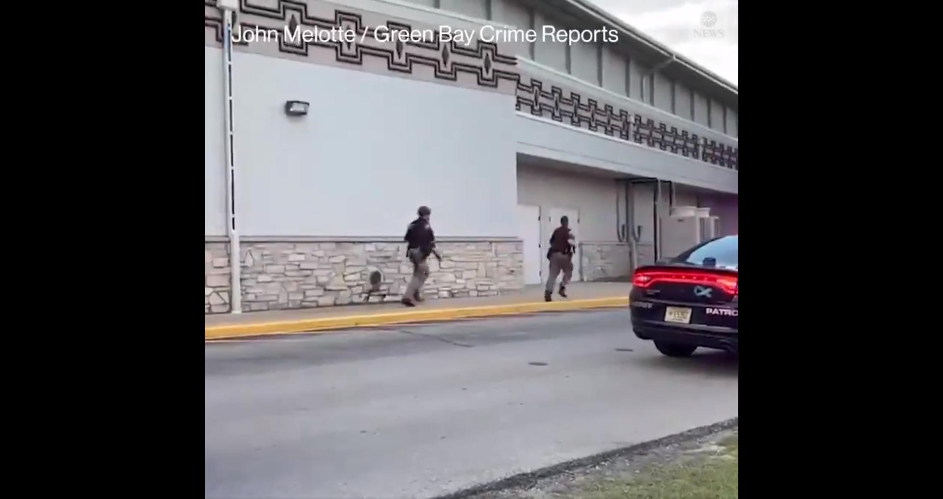 IMAGEM: Atirador mata 2 pessoas em cassino no Wisconsin