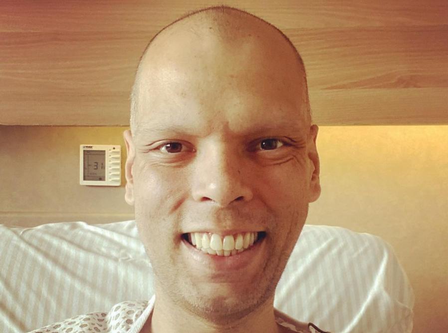 IMAGEM: 'Continuo a lutar aqui no hospital', diz Bruno Covas
