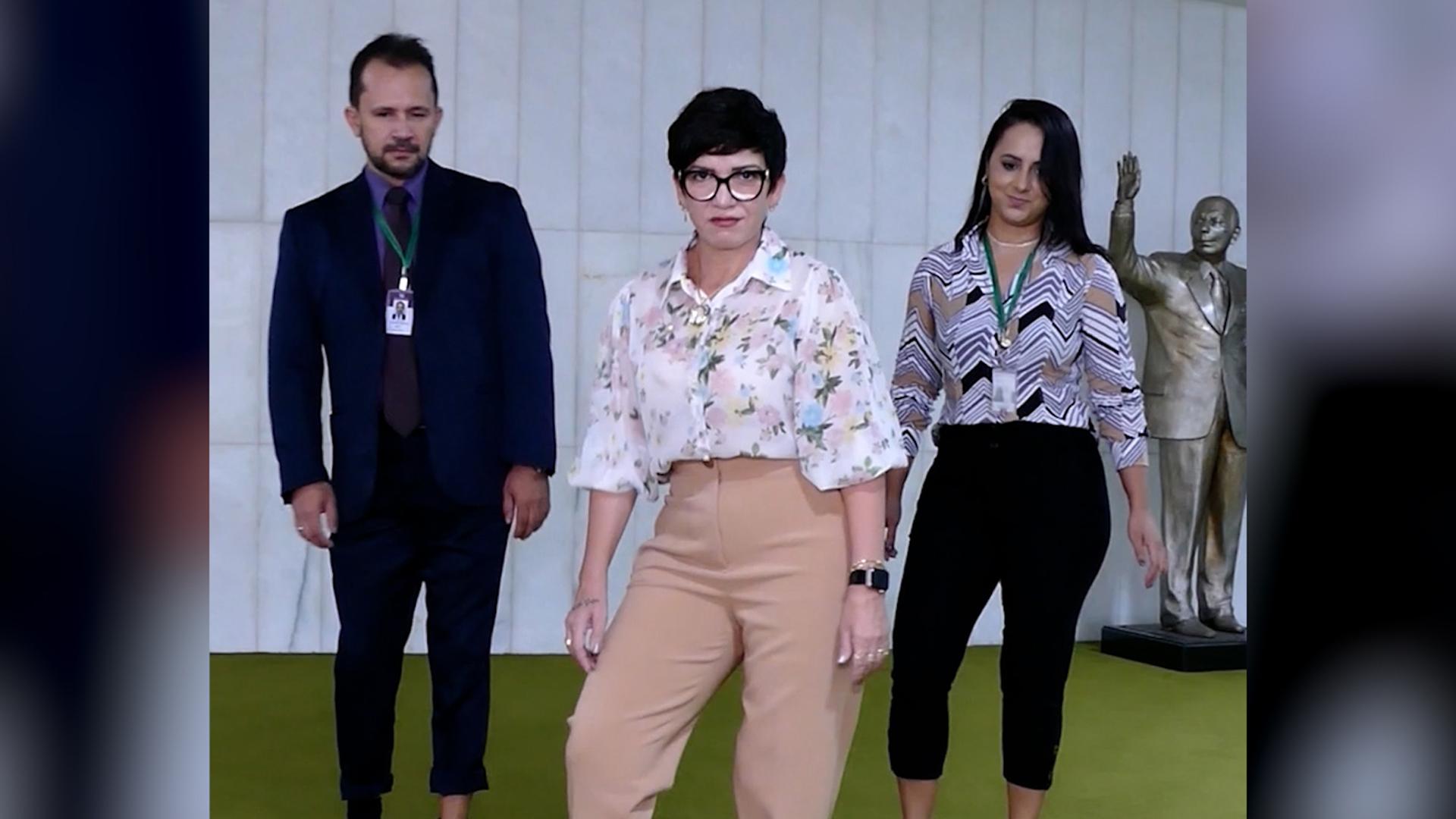 IMAGEM: Alê Silva diz que gravou vídeo da dancinha há 15 dias