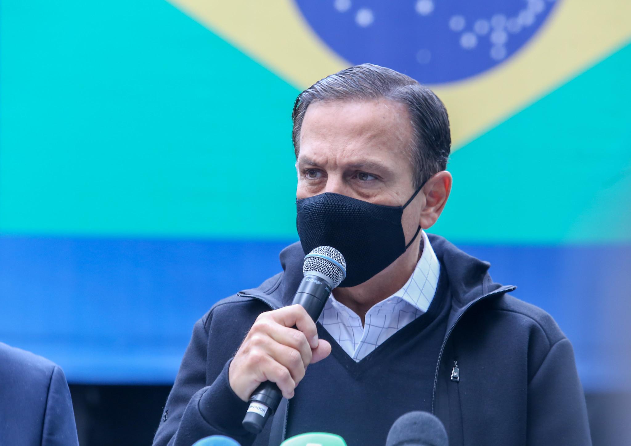 IMAGEM: Doria confirma que quer ser candidato do PSDB ao Planalto em 2022