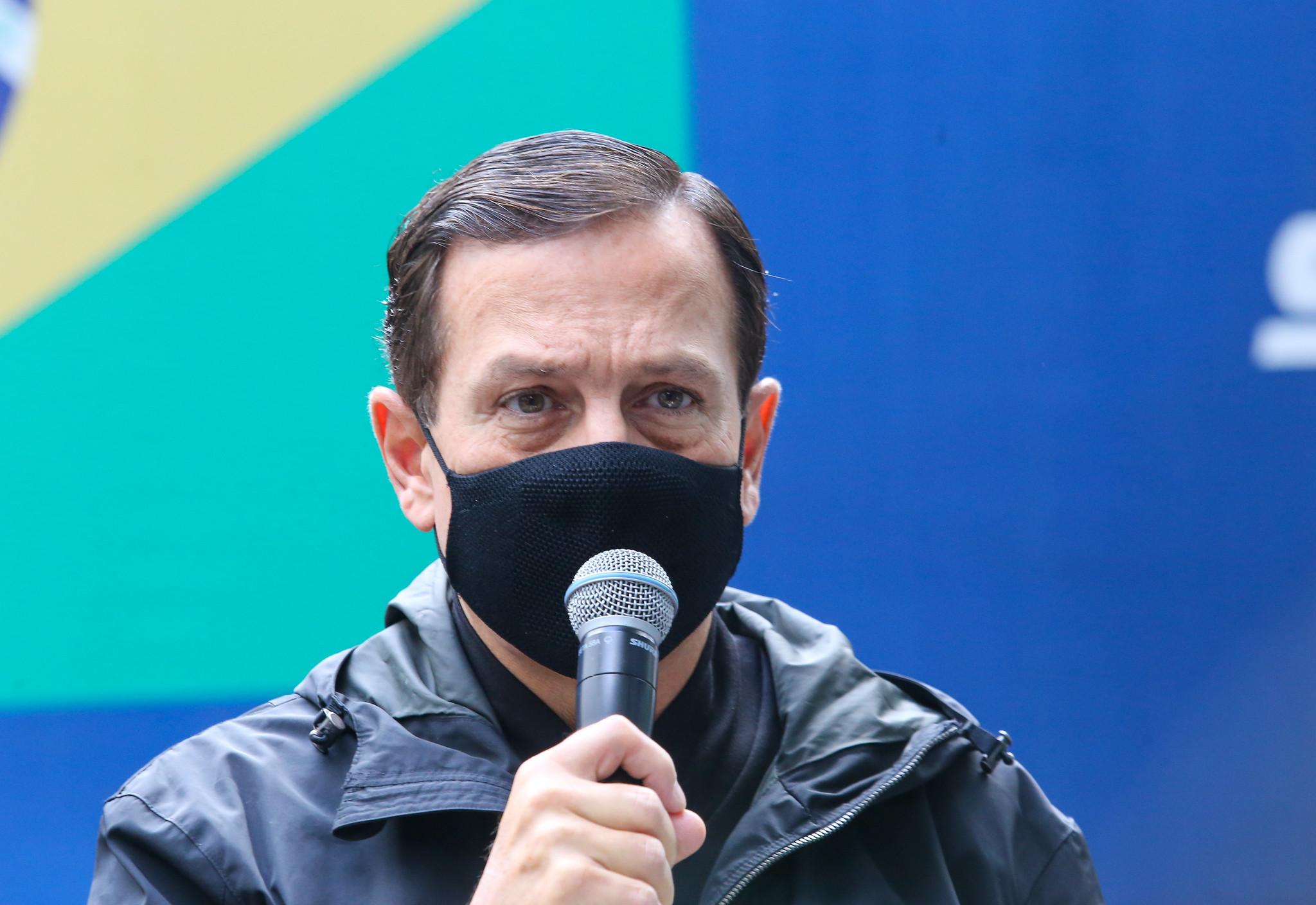 IMAGEM: Doria diz que Aécio deveria sair do PSDB e que deputado pediu propina a Joesley