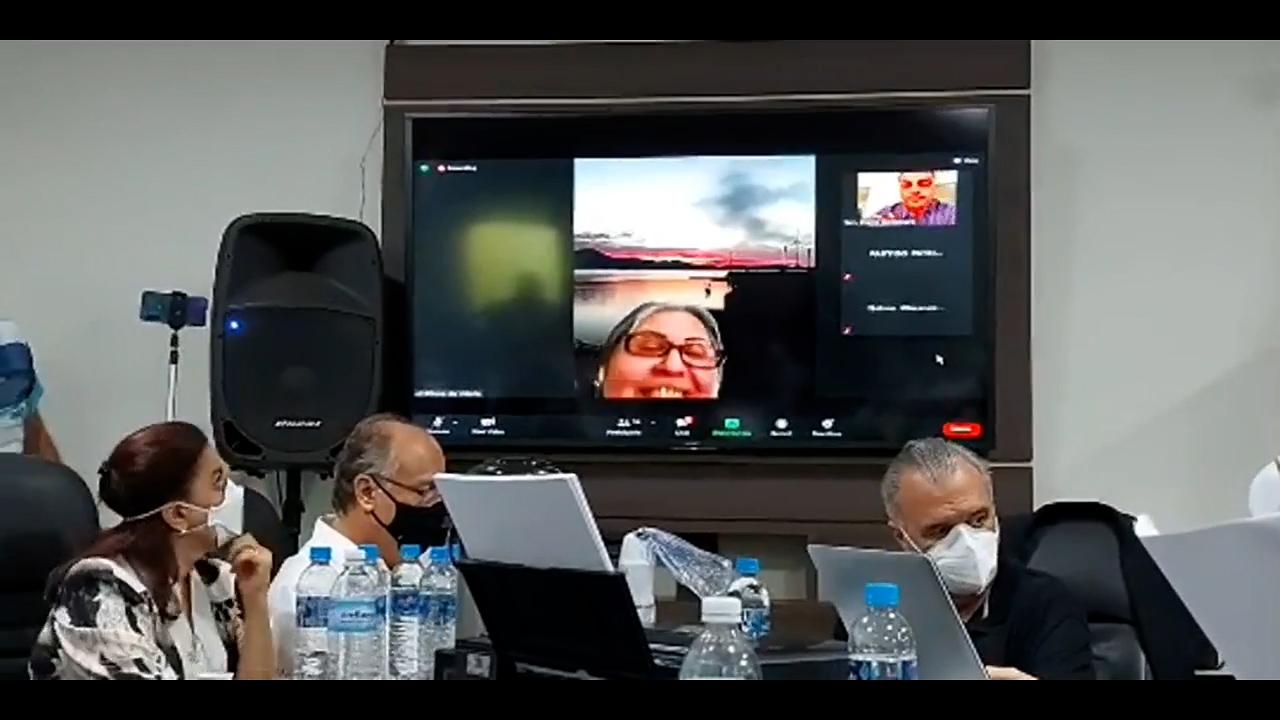 IMAGEM: Convenção do Patriota foi hackeada durante fala de Flávio Bolsonaro; assista ao vídeo