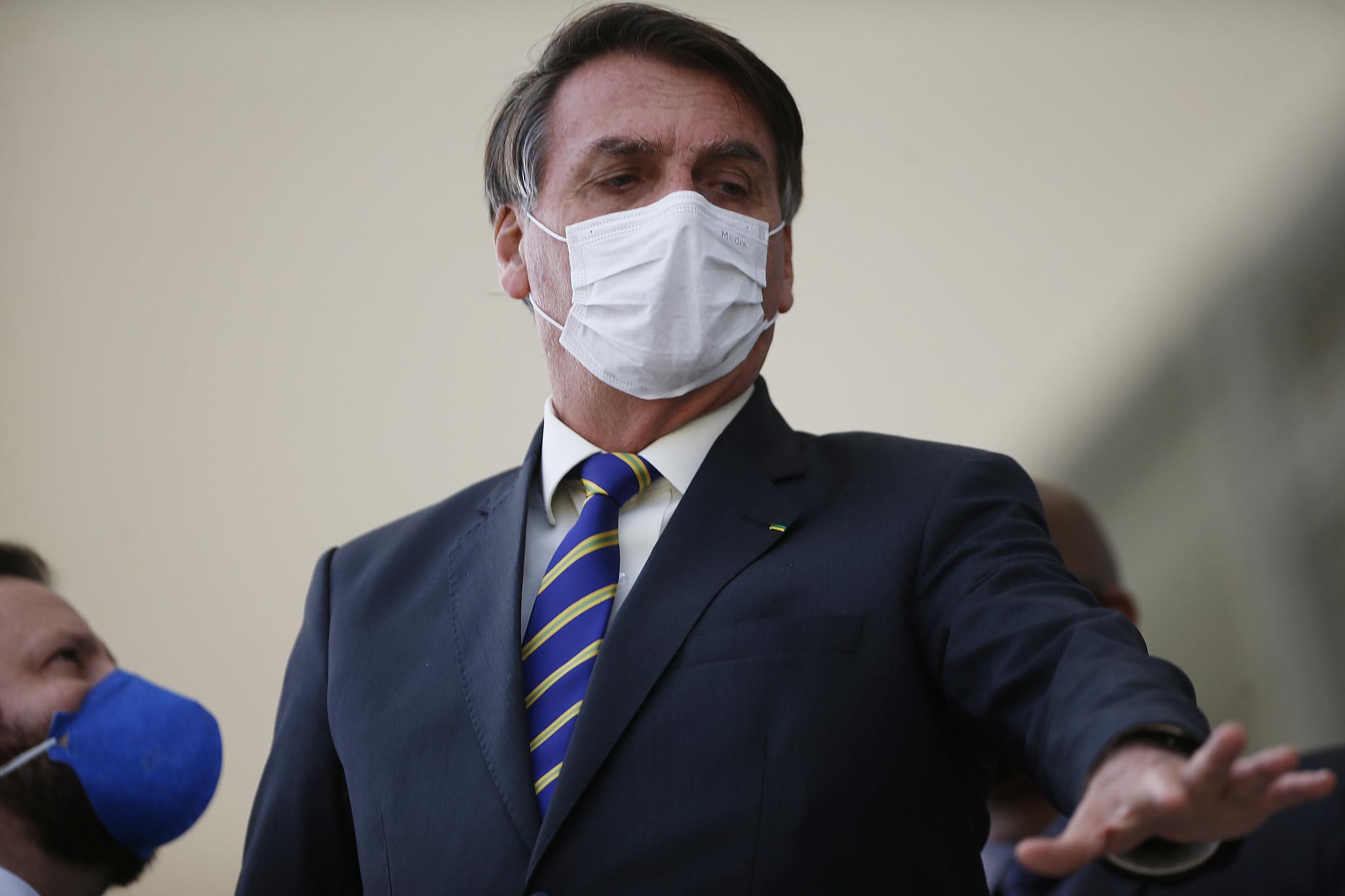 IMAGEM: Após ataques de Bolsonaro, Itamaraty diz que 'devemos louvar a China'