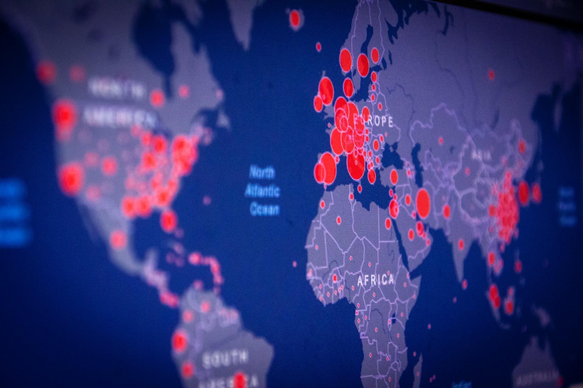 IMAGEM: Mortes no mundo por Covid já ultrapassaram 6,9 milhões, diz estudo sobre subnotificação