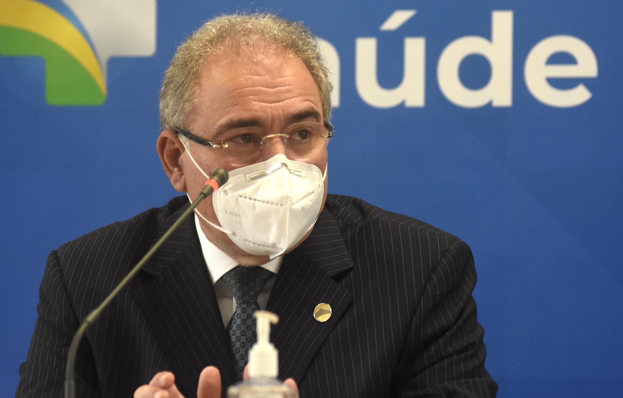 IMAGEM: Queiroga diz que Saúde estuda programa de testagem em massa de Covid