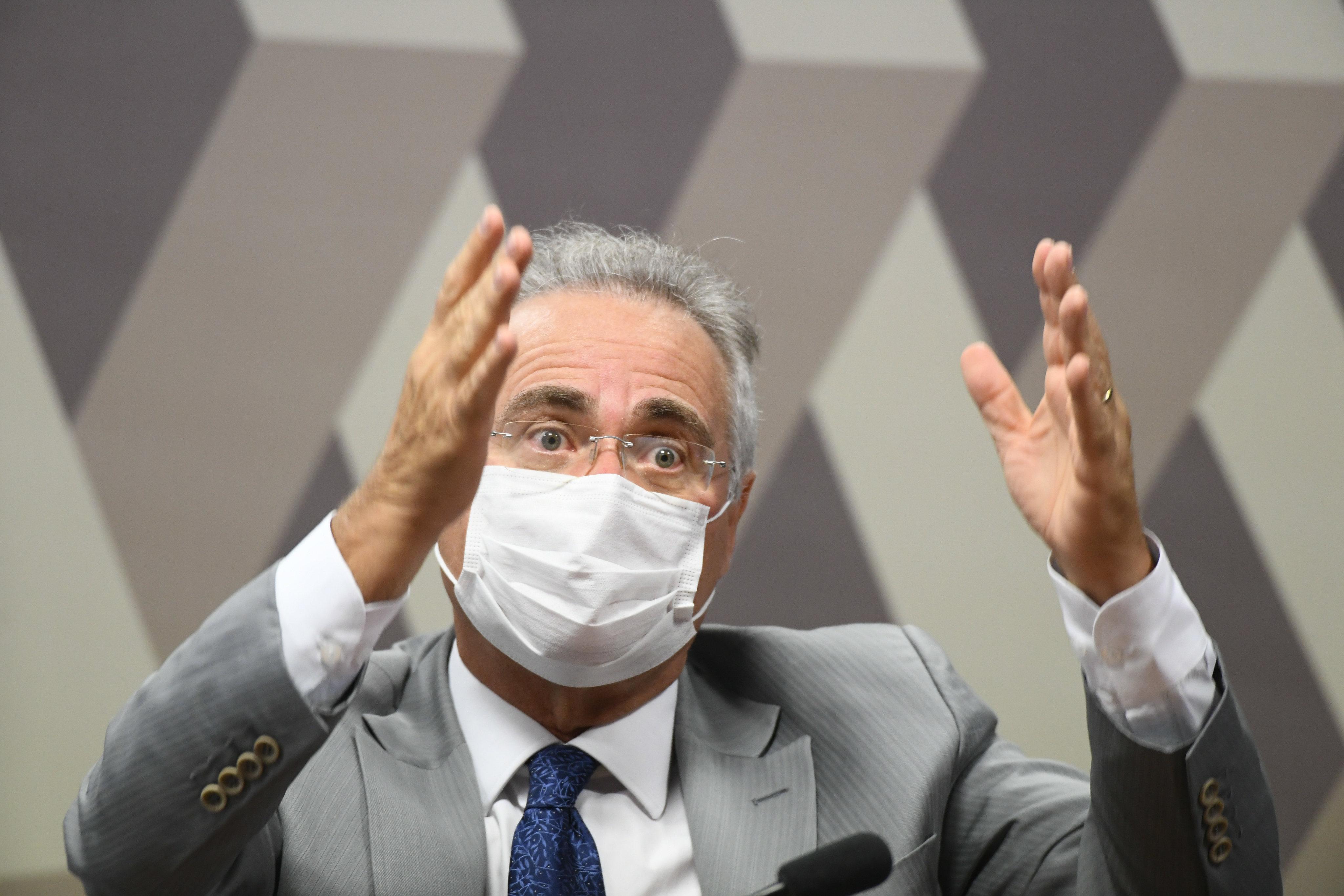 Renan e a 'aterradora constatação' sobre o Ministério da Saúde paralelo