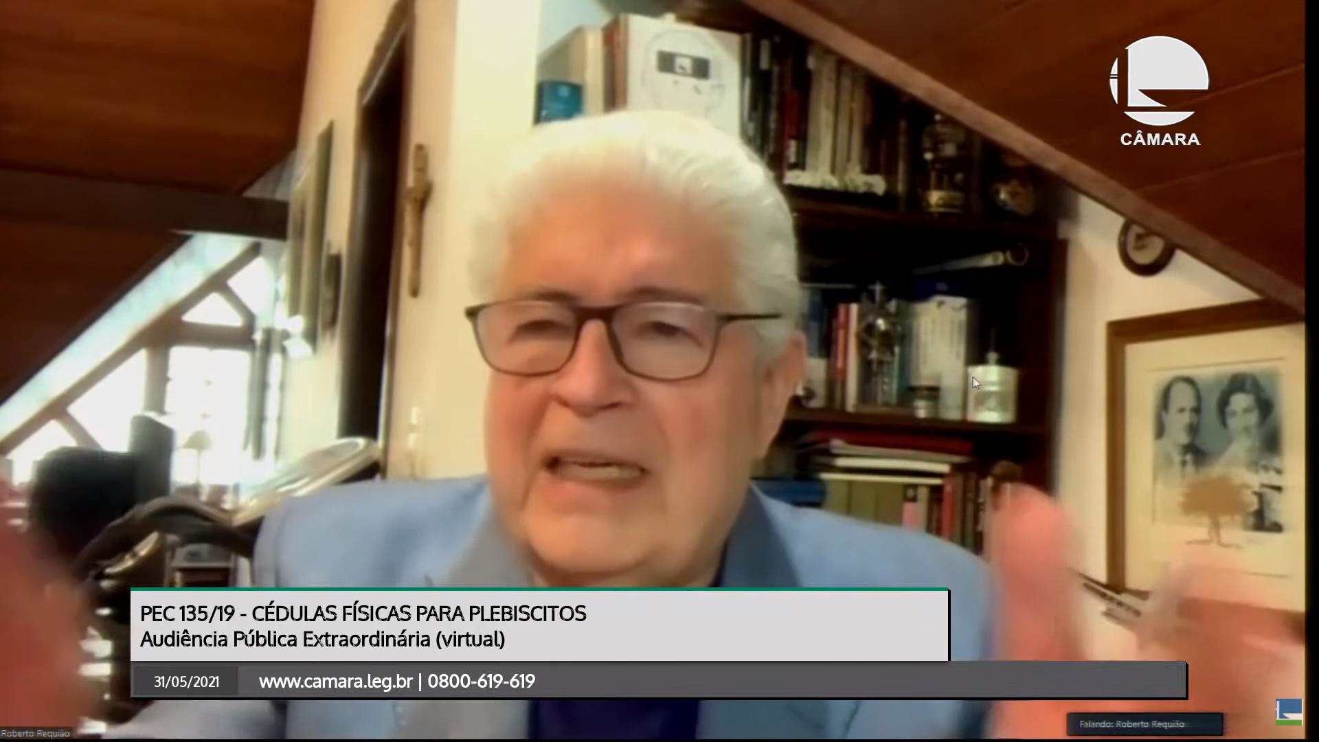 """IMAGEM: Requião: """"O Bolsonaro é a favor do voto impresso – e daí, minha gente?"""""""