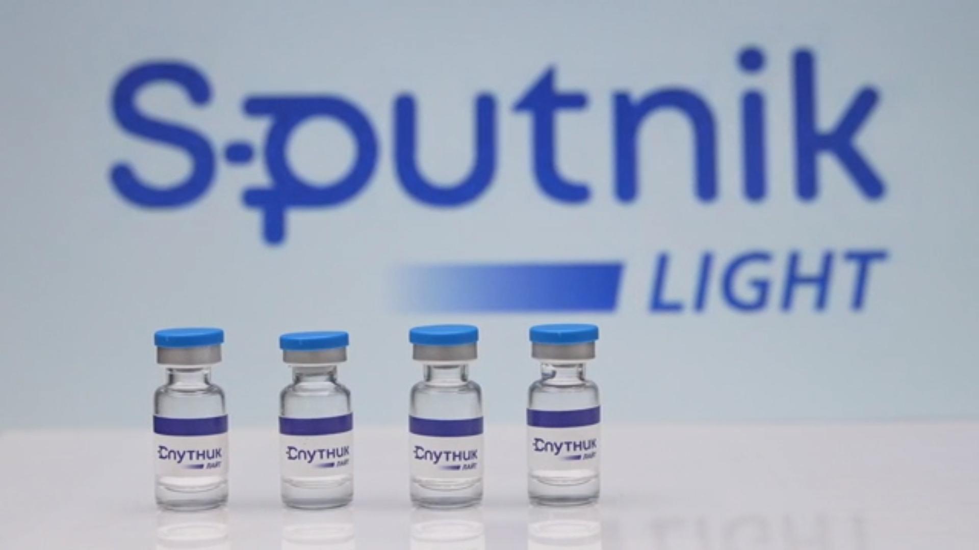 IMAGEM: Rússia relança 1ª dose da Sputnik V como 'Sputnik Light', vacina de dose única