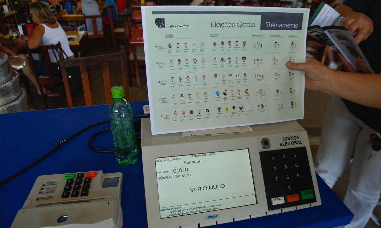 IMAGEM: TSE: estudos levaram em conta implementação gradual do voto impresso