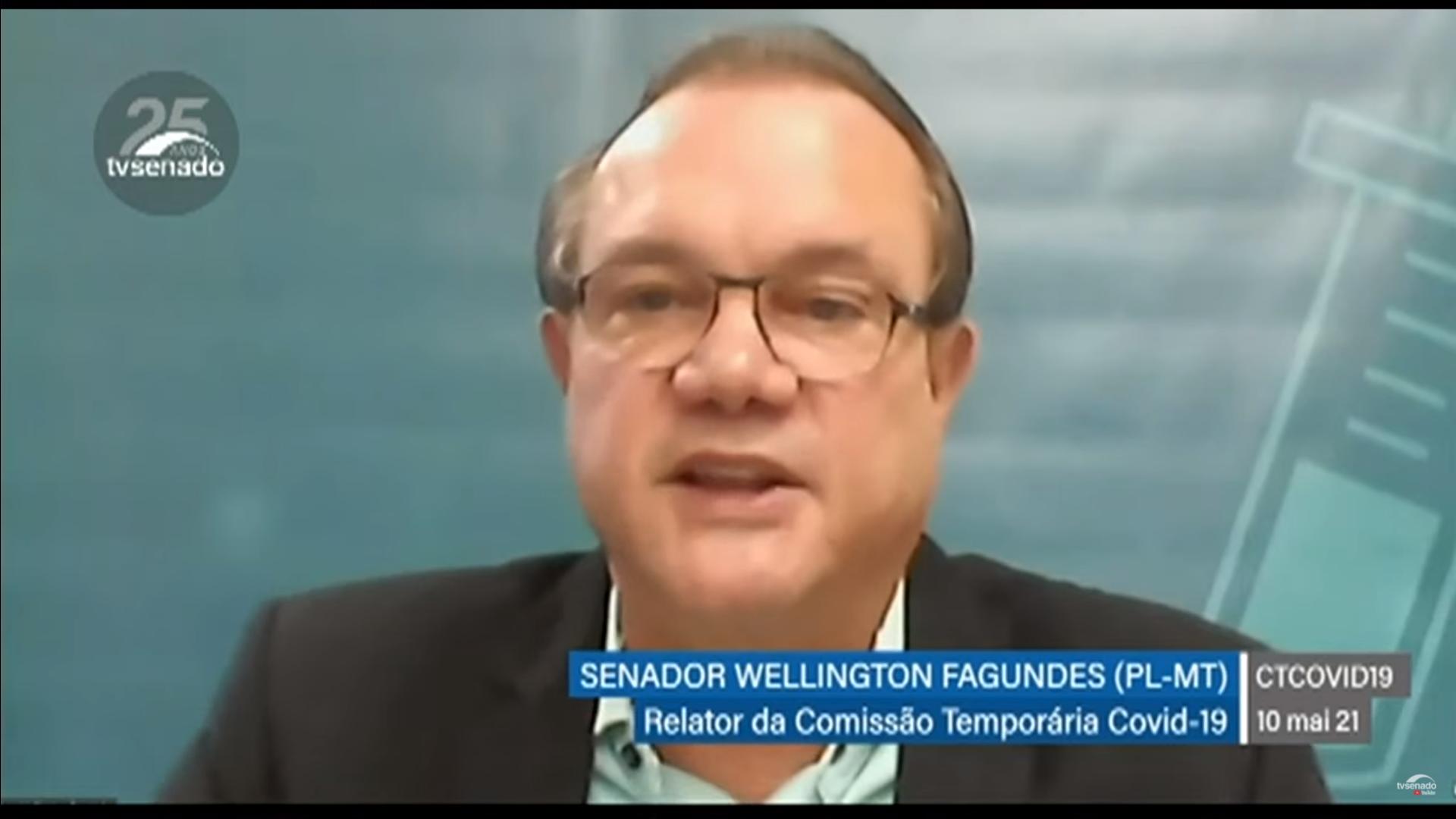 IMAGEM: Senador diz que Flávia Arruda vai visitar fábricas veterinárias, que podem produzir vacinas
