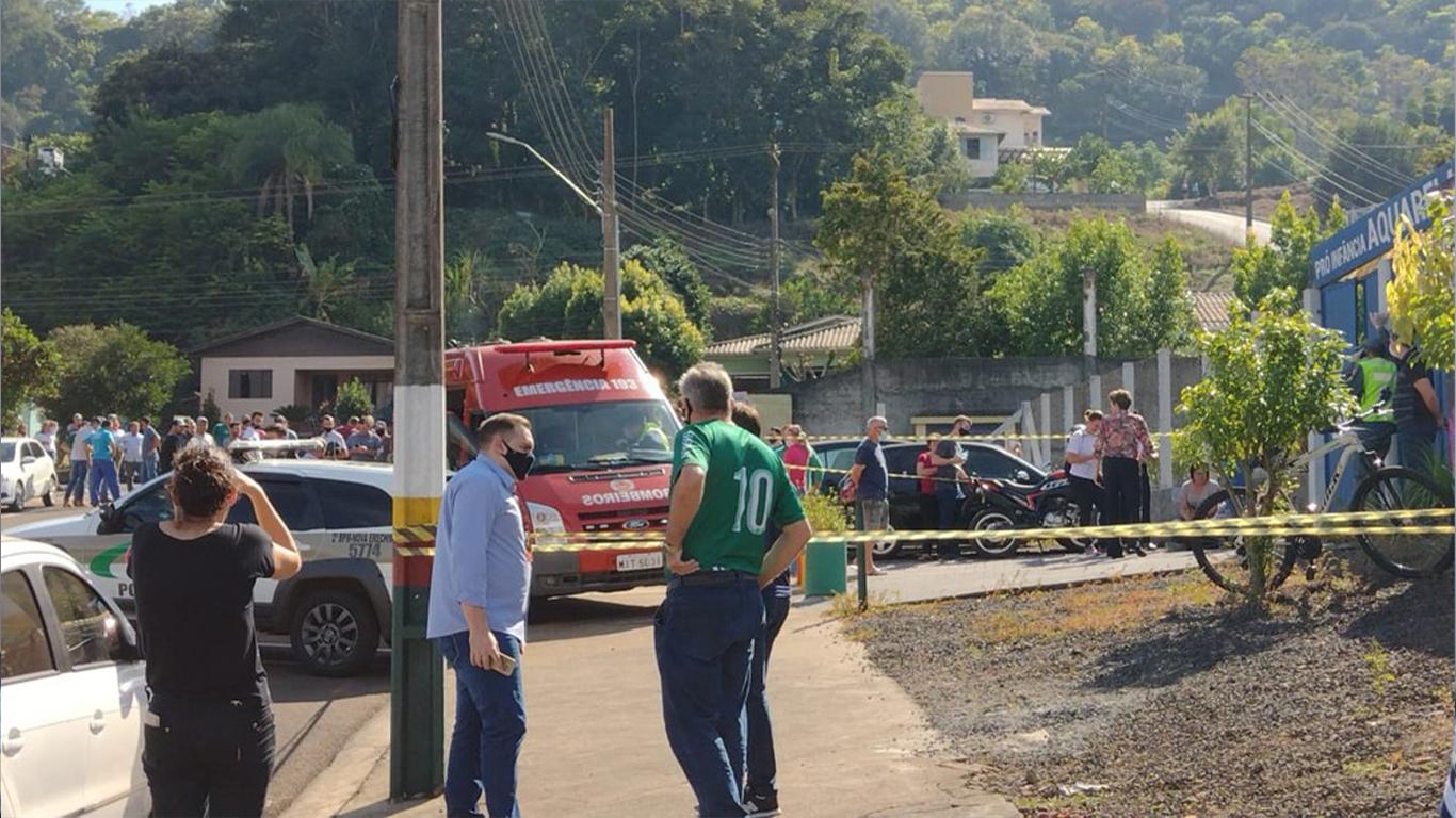 IMAGEM: Ataque em creche de SC: número de mortos sobe para 5